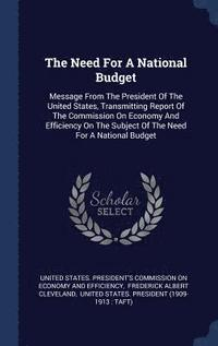 The Need for a National Budget (inbunden)
