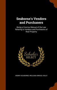 Seaborne's Vendors and Purchasers (inbunden)