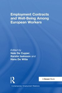 Employment Contracts and Well-Being Among European Workers (e-bok)