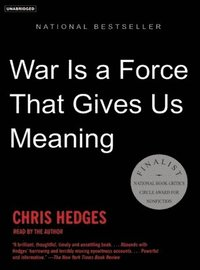 War is a Force That Gives Us Meaning (cd-bok)