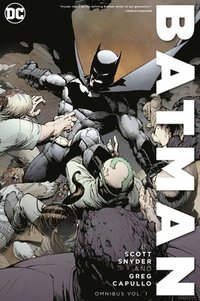 Batman by Scott Snyder and Greg Capullo Omnibus Volume 1 (inbunden)