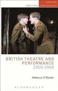 British Theatre and Performance 1900-1950 (häftad)