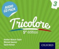 Tricolore Audio CD Pack 3 (cd-bok)
