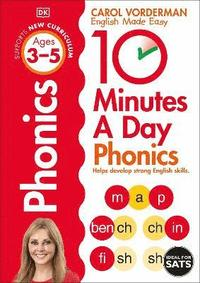 10 Minutes A Day Phonics Ages 3-5 Key Stage 1 (häftad)