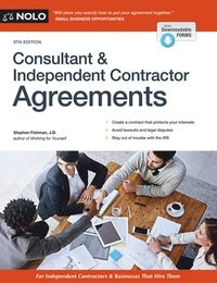 independent consulting agreement
