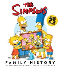 The Simpsons Family History (inbunden)