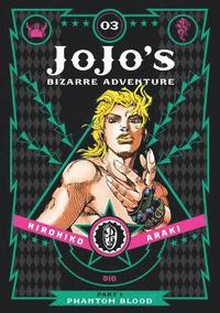 JoJo's Bizarre Adventure: Part 1--Phantom Blood, Vol. 3 (inbunden)