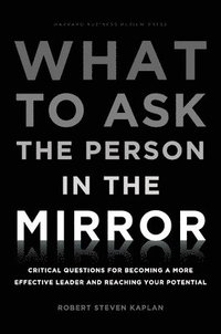 What to Ask the Person in the Mirror (inbunden)