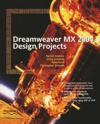 Dreamweaver MX 2004 Design Projects (e-bok)
