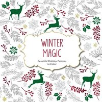 Winter Magic: Beautiful Holiday Patterns Coloring Book for Adults (häftad)