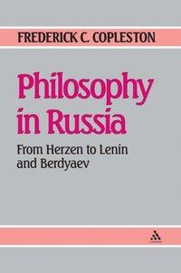 Philosophy In Russia E Bok Frederick Copleston 9781441129901