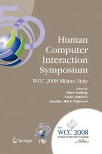 Human-Computer Interaction Symposium (häftad)
