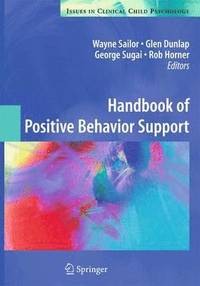 Handbook of Positive Behavior Support (häftad)