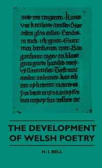 The Development Of Welsh Poetry (inbunden)