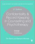 Confidentiality & Record Keeping in Counselling & Psychotherapy (häftad)