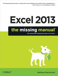 Excel 2013: The Missing Manual (e-bok)