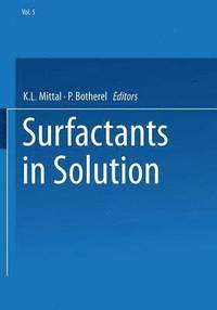 Surfactants in Solution (häftad)