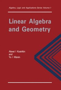 Linear Algebra and Geometry (e-bok)