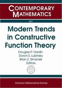 Modern Trends in Constructive Function Theory (häftad)