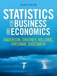 Statistics for Business and Economics (häftad)
