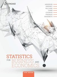 Statistics for Business and Economics (e-bok)