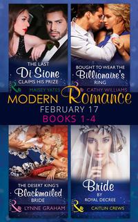 Modern Romance February Books 1-4 (Mills & Boon e-Book Collections) av  Maisey Yates, Cathy Williams, Lynne Graham, Caitlin Crews (E-bok)