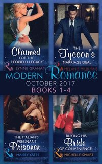 Modern Romance Collection: October 2017 Books 1 - 4 (Mills
