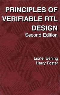 Principles of Verifiable RTL Design (häftad)