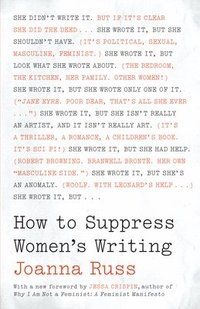 How to Suppress Women's Writing (häftad)