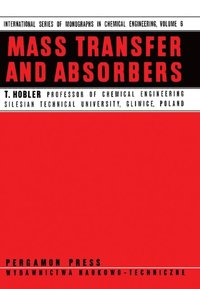 Mass Transfer and Absorbers (e-bok)