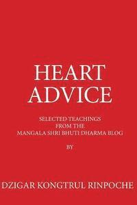 Heart Advice: Selected Teachings from the Msb Dharma Blog by Dzigar Kongtrul Rinpoche (häftad)