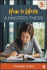 How to Write a Master's Thesis (häftad)