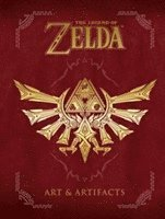 Legend Of Zelda, The: Art &; Artifacts (inbunden)