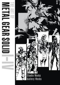 Art Of Metal Gear Solid I-iv (inbunden)