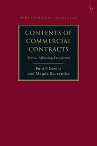 Contents of Commercial Contracts (inbunden)