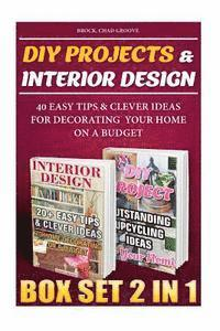 diy projects interior design box set 2 in 1 40 easy