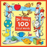 Dr. Seuss's 100 First Words (kartonnage)