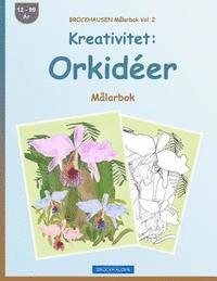 Skopia.it BROCKHAUSEN Målarbok Vol. 2 - Kreativitet: Orkidéer: Målarbok Image