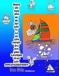 Radiodeltauno.it Målarbok båtar segling vatten hav hav vågor gyckel för alla barn vuxen pensionärer skola arbete sjukhus ålderdomshem lätt nivå gyckel genom surrealist Image