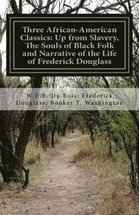 Three African- American Classics: Up from Slavery, The Souls of Black Folk and Narrative of the Life of Frederick Douglass (häftad)