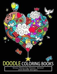 Doodle Coloring Books: Adult Coloring Books: Relax on an Intergalactic  Journey Through the Universe and Cute Monster av Tamika V Alvarez, Doodle