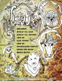 Skopia.it Fylgja Målarbok Anslut till djur Anslut till naturen lära om djur totems lära om omvandlande kraften genom kär artist Grace Divine Image