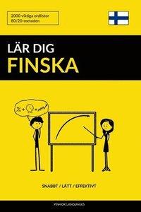 Skopia.it Lär dig Finska - Snabbt / Lätt / Effektivt: 2000 viktiga ordlistor Image