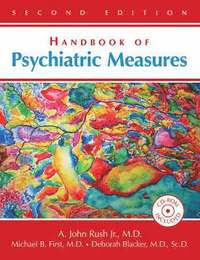 Handbook of Psychiatric Measures (inbunden)