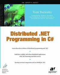 Distributed .NET Programming in C# (häftad)
