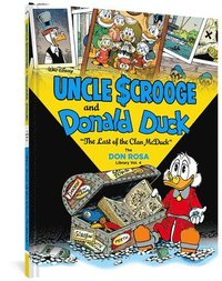 Walt Disney Uncle Scrooge and Donald Duck: 'the Last of the Clan McDuck' (the Don Rosa Library Vol. 4) (inbunden)