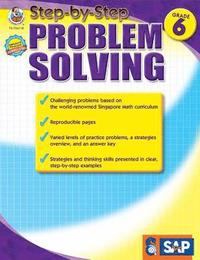 Step-By-Step Problem Solving, Grade 6 (häftad)
