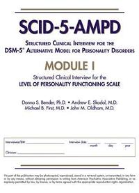 Structured Clinical Interview for the DSM-5 (R) Alternative Model for Personality Disorders (SCID-5-AMPD) Module I (häftad)