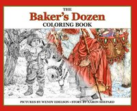 The Baker's Dozen Coloring Book (inbunden)