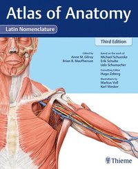 Atlas of Anatomy, 3e Latin (inbunden)